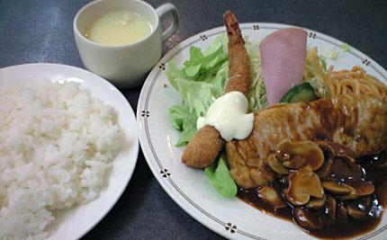洋食 マルマン「Bランチ」840円