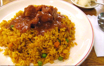 India Curry「ドライカレー」680円